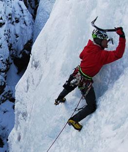 Ice Climber Ouray