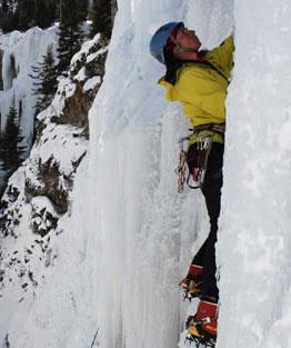 Danika Climbing