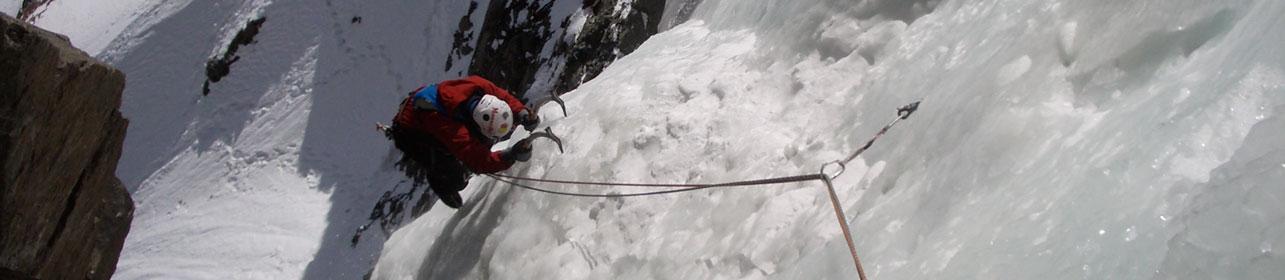 Cody, WY Ice Climbing