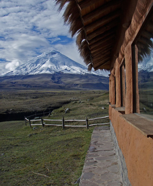 Cotopaxi from Chilcabamba