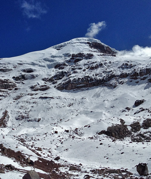 Chimborazo from the Hut