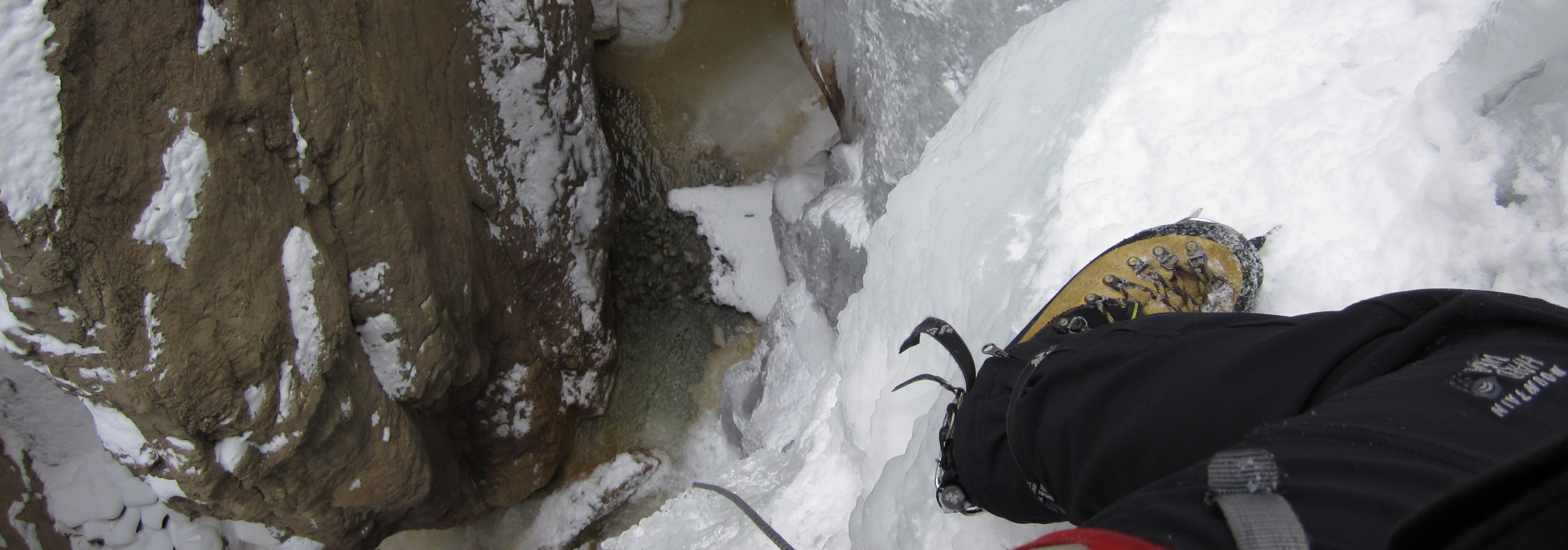 Ouray Ice Park Opening Day