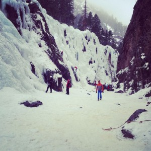 South Park Ouray Ice Park
