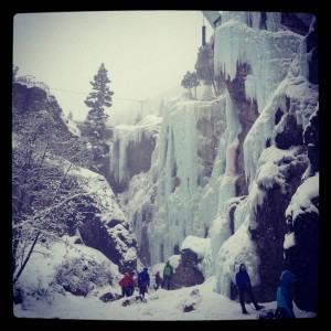 Scottish Gullies Ouray Ice Park