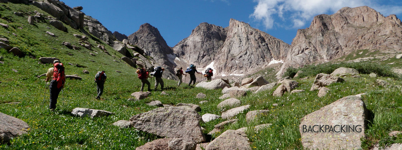Backpacking Colorado