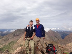 Summit of Wilson Peak