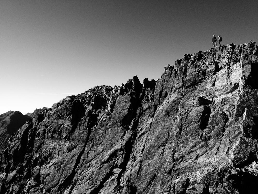 Summit of Vestal Peak