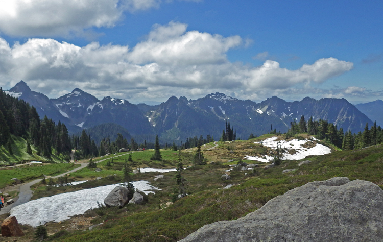 View of the Tatoosh Range