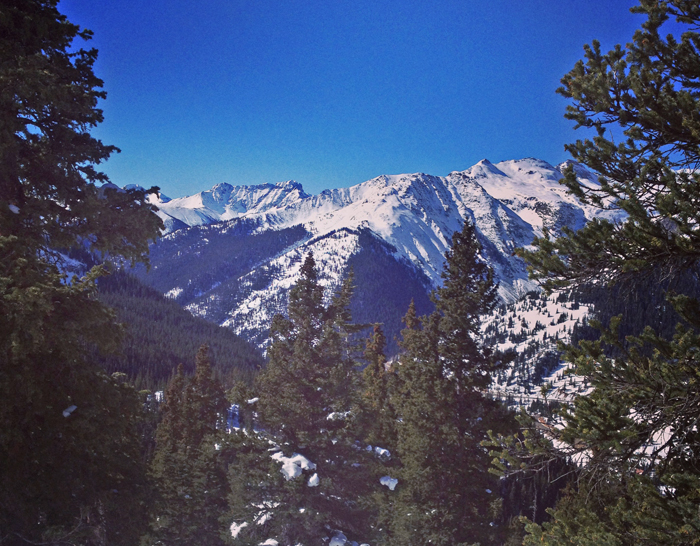 Snow conditions in the San Juans