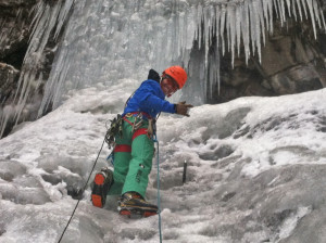 Psyched to Climb Ice!