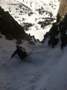 Radical Coulior Skiing with Ski Mountaineering Camp