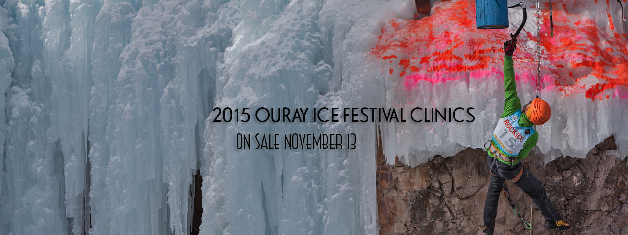 Ouray Ice Festival Clinics