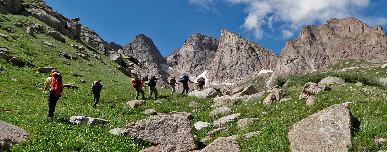Backpacking and Trekking in Colorado