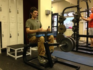Weighted Calf Raises