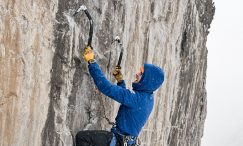 mixed climbing ouray ice park