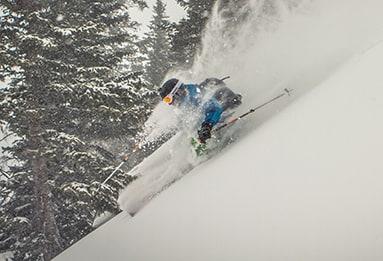 backcountry lodge skiing
