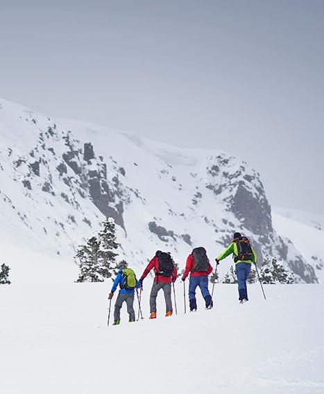 ski touring red mountain pass