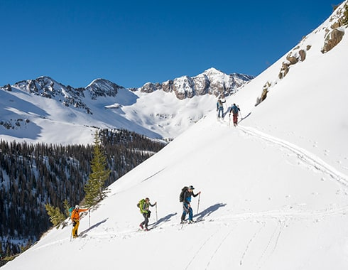 hut skiing colorado