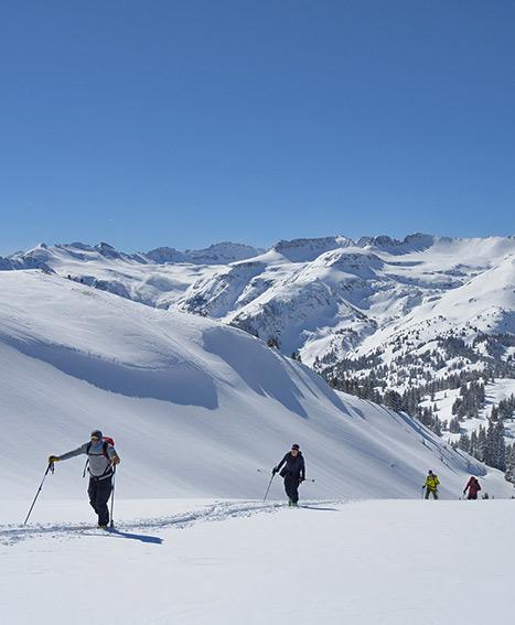 red mountain # 3 skiing
