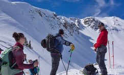 red mountain pass backcountry skiing