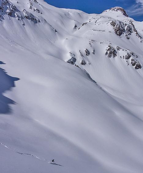 ski mountaineering commodore basin